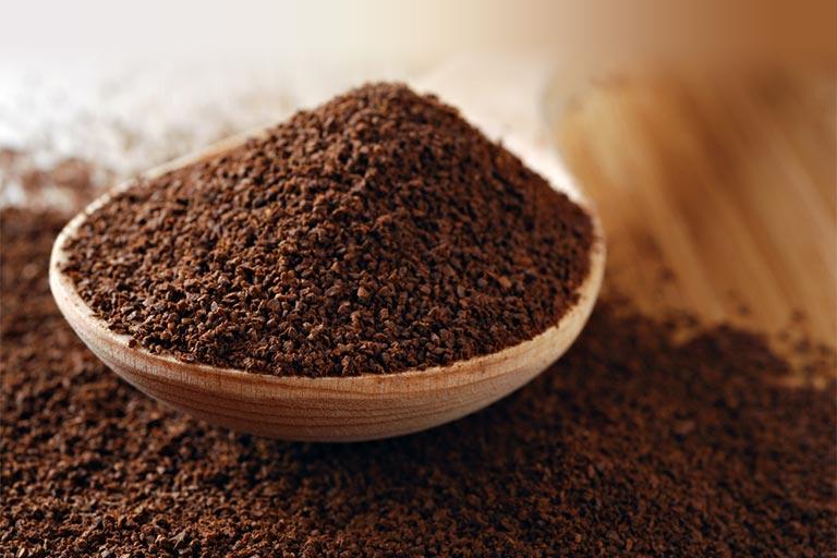 天然コーヒーカスの抽出